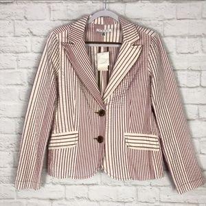 CAbi 10 Captain jacket/blazer style 391 red white